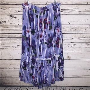 Venezia Lane Bryant 22/24 Sublimation Maxi Skirt